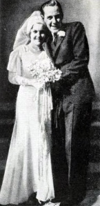 Jimmie Fidler and Dorothy Lee in 1931.