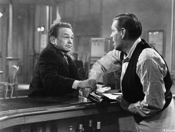 Wagner with Edward G. Robinson in Illegal (1955).