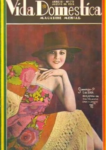 Vida Doméstica magazine covers Lia Torá's dancing career in 1924.