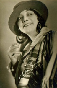 Lia Torá in an unidentified film.