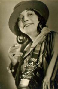 Lia Torá in an unidentified film.
