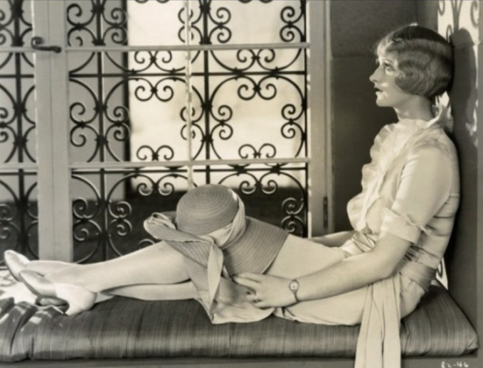 Natalie Kingston as a blonde in about 1927.
