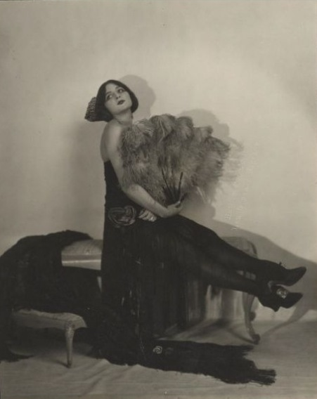 Natalie strikes a pose probably for her Peacock Dance in 1923-1924.