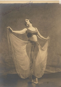 Natalia Vallejo Haraszthy, Natalie Kingston's cousin, was a dancer in her own right. (Photo Courtesy UC Berkeley/Bancroft Collection)